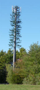 cell phone tower for high speed connectivity of laptops with WiMax